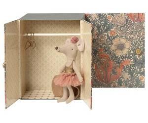 Bilde av Maileg dance room w/ big sister mouse - danserom