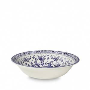 Bilde av Blue regal peacock pudding / soup bowl