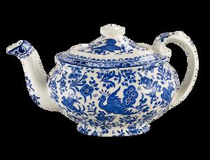 Bilde av Blue regal peacock Teapot large (5 cups)