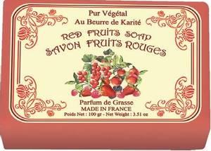 Bilde av Le Blanc såpe i papir - røde frukter