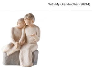 Bilde av With my grandmother (26244)