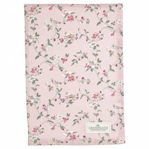Bilde av Koppehåndkle Tea towel Jolie pale pink