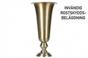 Bilde av Pokal / vase - Tara - børstet messing, stor H: 41