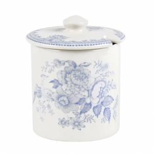 Bilde av Blue Asiatic Pheasant Covered Jam Straight Sided