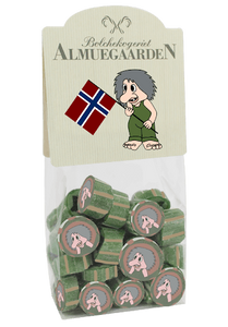 Bilde av Drops - Norske troll, 150g (karamellsmak)