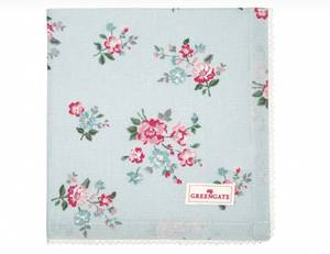 Bilde av GreenGate napkin with lace / brikke Sonia pale