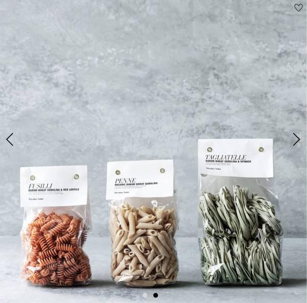 Pasta: Penne - Organic durum wheat semolina 250g