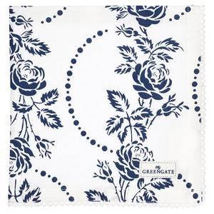 Bilde av GreenGate napkin with lace Fleur blue