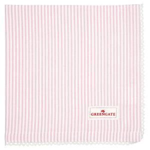 Bilde av GreenGate napkin with lace Zoe pale pink
