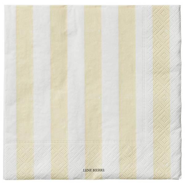 AMANI paper napkin mellow 33X33 cm - papirserviett