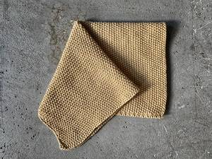 Bilde av Strikket klut, 28x28 cm sand