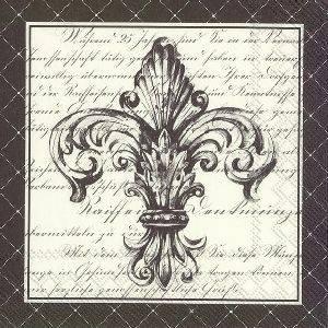 Bilde av Papirserviett fransk lilje