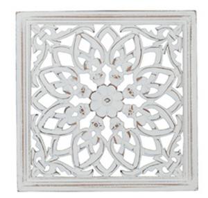 Bilde av Carve tempeltavle 30x30 cm hvit