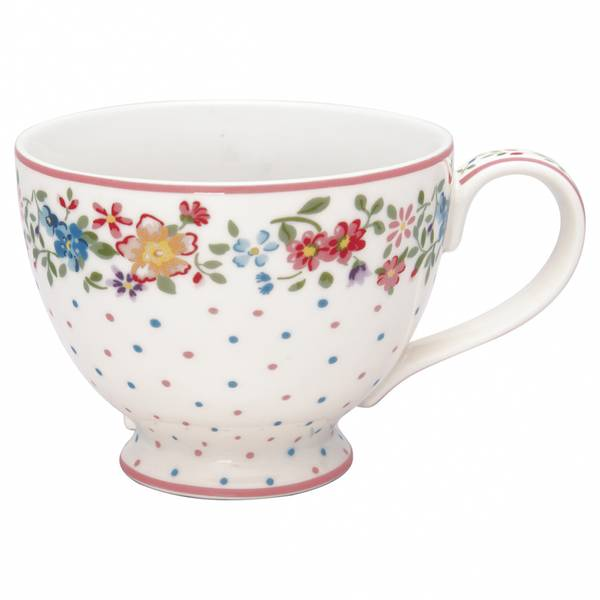 GreenGate tekopp Belle white