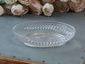 Bilde av Såpeskål, glass med riller