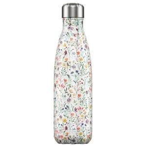 Bilde av Chilly's bottles floral engblomster 500ml
