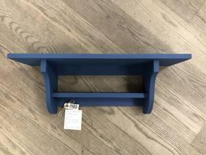 Bilde av Mølla vegghylle med hylle, Royal blue 60cm