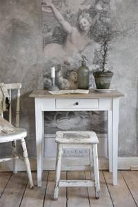 Bilde av Konsollbord hvit/natur