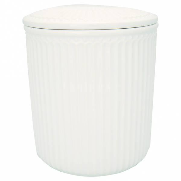 GreenGate storage Jar Alice white medium