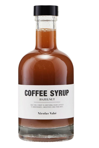 Bilde av Coffee syrup: Hazelnut / hasselnøtt