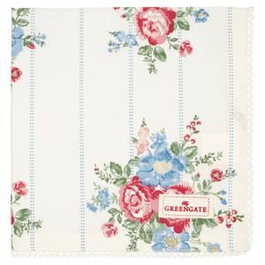 Bilde av GreenGate napkin with lace / brikke Henrietta