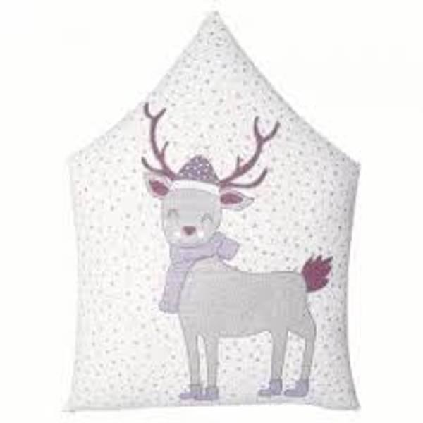 GreenGate pute Deer lavender pieceprinted 30x40cm