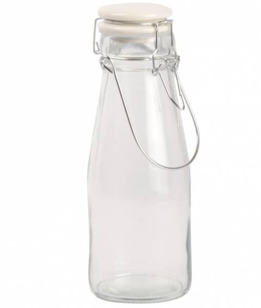 Flaske med hvitt patentlokk, 500ml