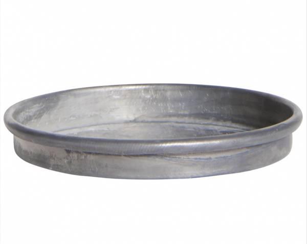Lysfat / plett av Zink Ø: 8cm
