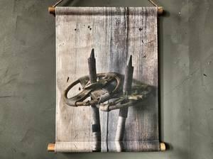 Bilde av Plansje gamle staver 40x50 cm