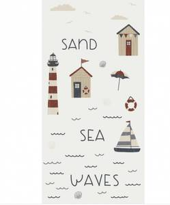 Bilde av Papirservietter Sand, Sea, Waves (40x40cm)