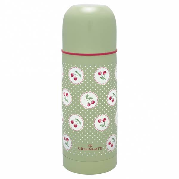 GreenGate termos bottle Cherry berry p.green 300ml