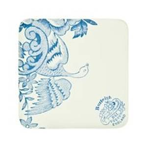 Bilde av Blue Asiatic Pheasant Coasters 4pk