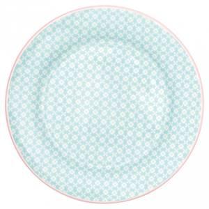 Bilde av Frokosttallerken Helle pale blue