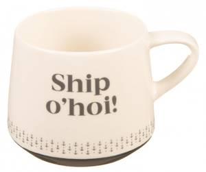 Bilde av Krus, Ship O'hoi, blått og hvitt (2,75dl)