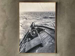Bilde av Bilde aye aye captain 60x80 cm