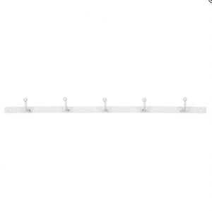 Bilde av Knaggrekke med 5 knagger, hvit