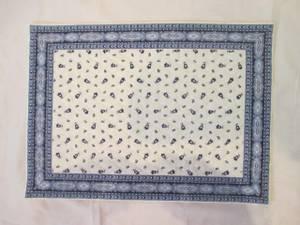 Bilde av Spisebrikke Provence Tradition, hvit og blå