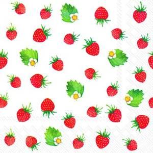 Bilde av Papirserviett sweet strawberries, små