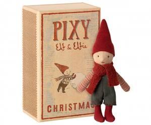 Bilde av Maileg pixy Elf in box / Elf i fyrstikkeske
