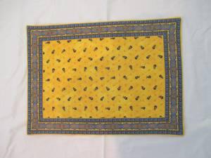 Bilde av Spisebrikke Provence Tradition, gul/blå