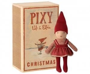 Bilde av Maileg pixy Elfie in box / Elfie i fyrstikkeske