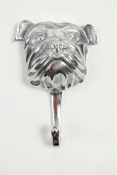 Knagg, sølvfarget hund