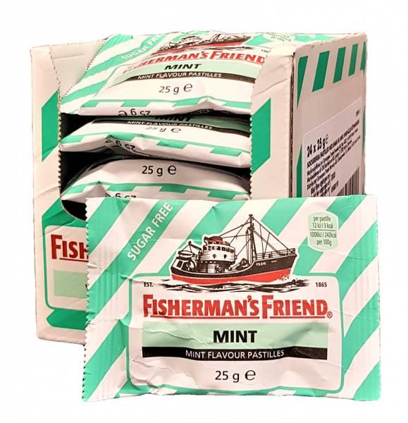 Bilde av Fisherman's Friend Mint 24x25g HEL ESKE