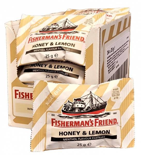 Bilde av Fisherman's Friend Honey & Lemon 24x25g HEL ESKE