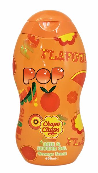 Bilde av Chupa chups bad & dusj gele appelsin 400ml