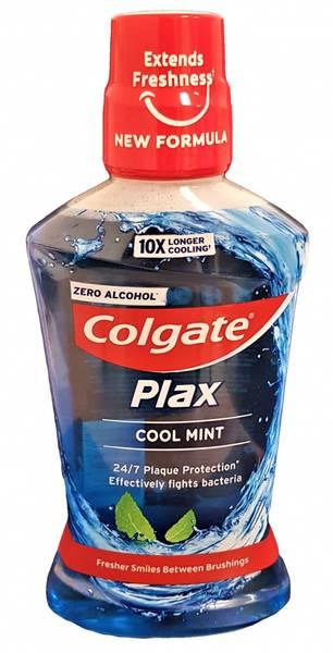 Bilde av Colgate alkoholfri munnskyll Plax cool mint 500ml