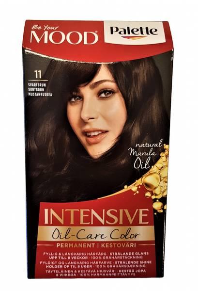 Bilde av Palette hårfarge sortbrun