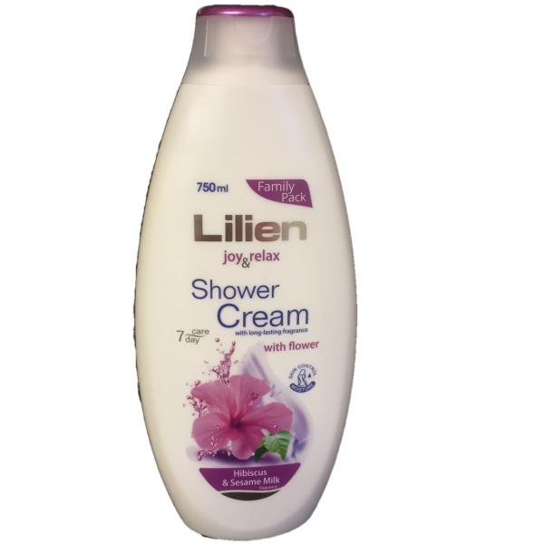 Bilde av Lilien shower cream m. blomster 750ml