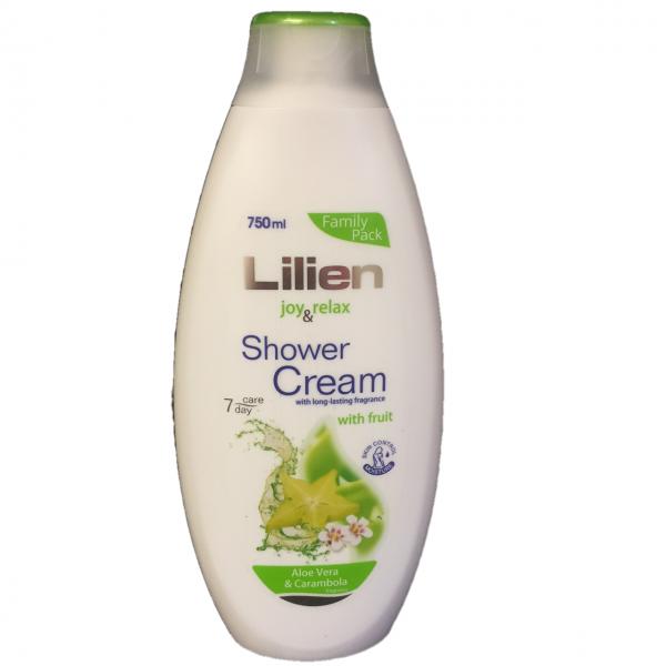Bilde av Lilien shower cream 750ml Aloe Vera