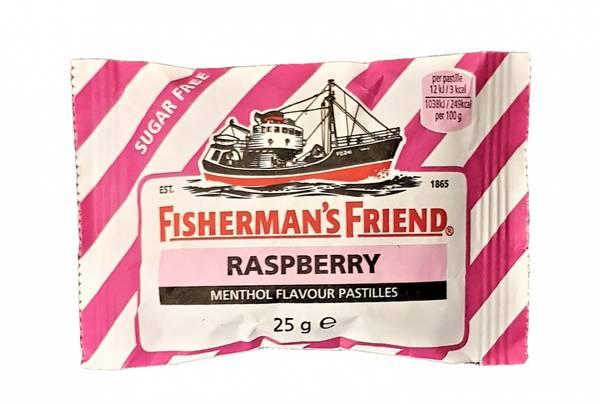 Bilde av Fisherman's Friend Bringebær 25g